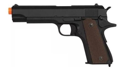 Pistola Airsoft Gbb Blowback M1911 A1 R31-BK - Army Armament