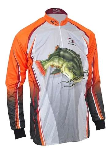 Camiseta De Pesca UV Faca Na Rede Combat S 19 Pirara