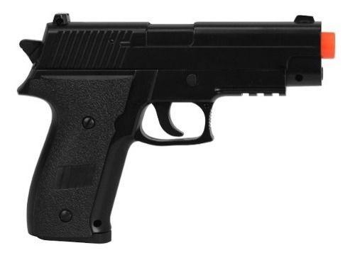 Pistola Airsoft Spring Cyma ZM23 P226 Compact FullMetal Mostruário