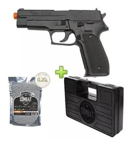 Pistola Airsoft Sig Sauer P226 T Series + Kit *MOSTRUÁRIO*