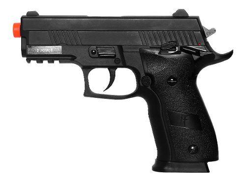 Pistola Airsoft Saigo 229 Slide Metal Blowback CO2 6mm