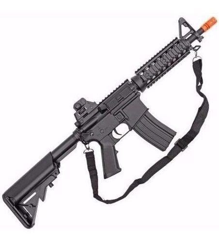 Rifle De Airsoft M4a1 Aeg Ris Cqb 6mm - Cyma