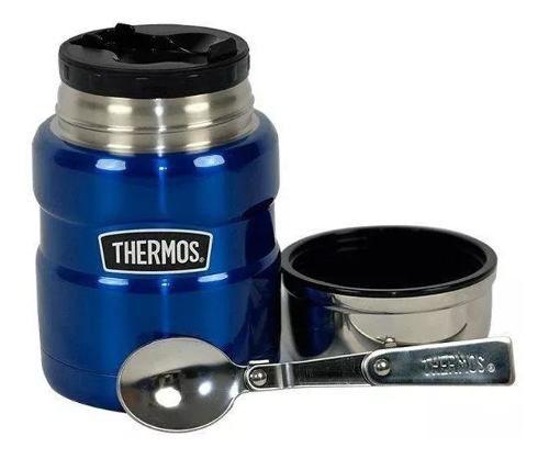 Pote Térmico 470ml Everest Azul Thermos