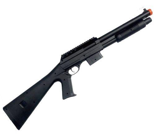 Rifle de Airsoft Shotgun Tactical Spring Vigor VG 0581B 6mm