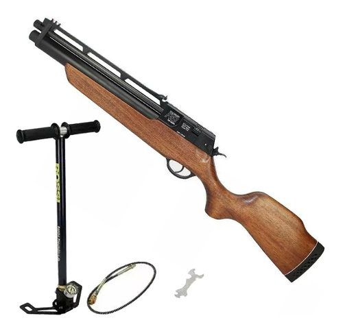 Carabina De Pressão PCP Rossi R8 Short 5,5mm + Bomba
