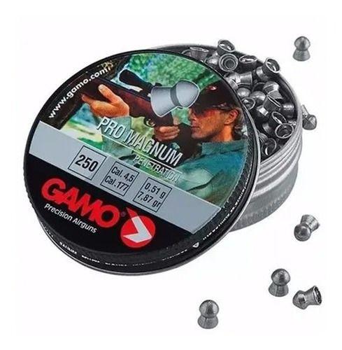 Chumbinho Gamo Pro Magnum Para Carabina 4.5mm 250un