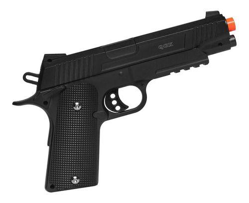 Pistola De Airsoft Spring 1911 Galaxy G.38 Full Metal 6mm