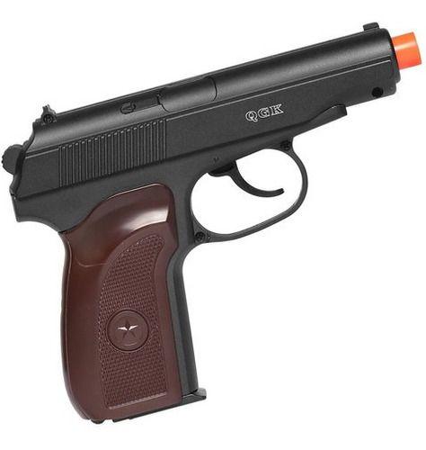 Pistola De Airsoft Spring Galaxy G29 Makarov 6mm