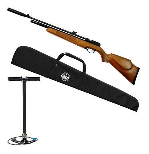 Carabina De Pressão Espingarda Pcp Artemis Pr900w 5.5mm + Bomba Manual + Capa