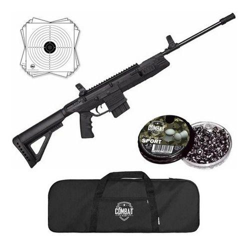 Carabina Pressão Rifle Gamo G-force Tac 4.5 + Capa + Chumbo