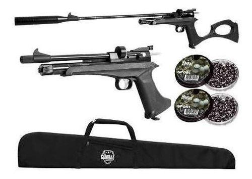 Pistola Carabina De Co2 Artemis Cp2 5.5mm + Capa + Munição