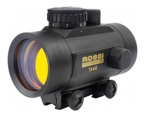 Mira Holográfica Red Dot Rossi 1x40 Mounts 3/8 11mm