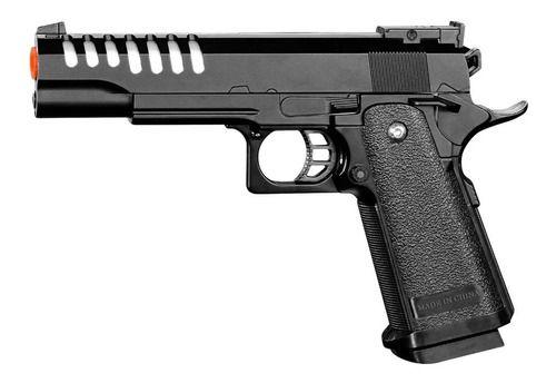 Pistola Airsoft Metal Slide 1911 Spring Vigor Gk V305 6mm