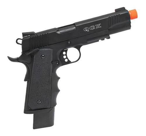 Pistola Airsoft Army 1911 M.E.U R32 Nightstorm Gbb Fullmetal