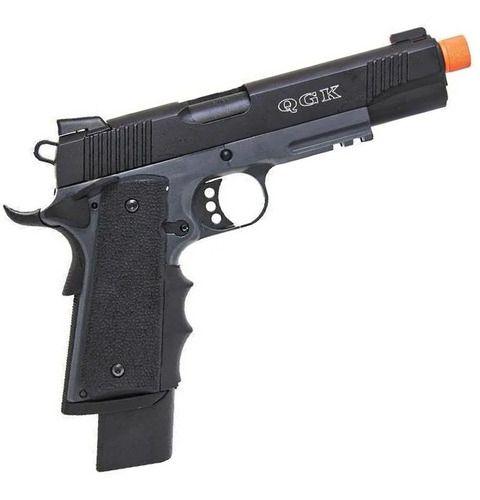Pistola Airsoft Army 1911 M.E.U R32 Darkstorm Gbb Full Metal