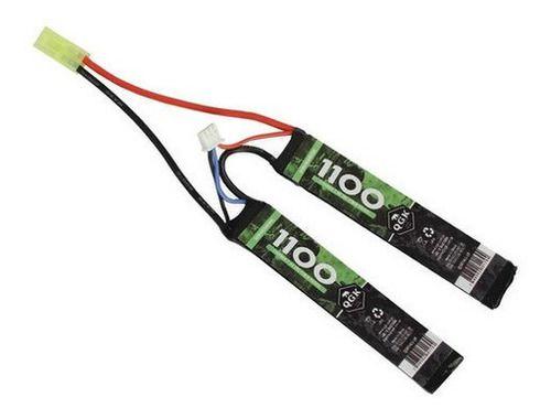 Bateria Airsoft Lipo Qgk 20c 2 Packs 1100mah 7.4v