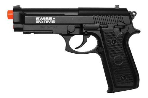 Pistola Pressão Co2 Pt-92 Blowback Full Metal Gbb 4.5mm