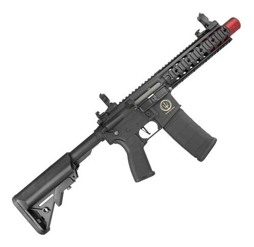 Rifle De Airsoft Aeg Rossi Ar15 Neptune M4 Mk18 8p Sd Et 6mm