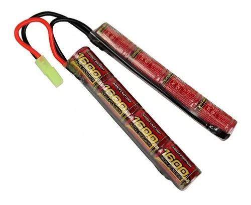 Bateria Para Airsoft AEG Mod. Butterfly 9.6v 1600 mAH (MLT)