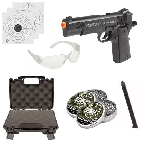 Kit Pistola Gamo Rd-1911 Blowback Co2 4.5mm