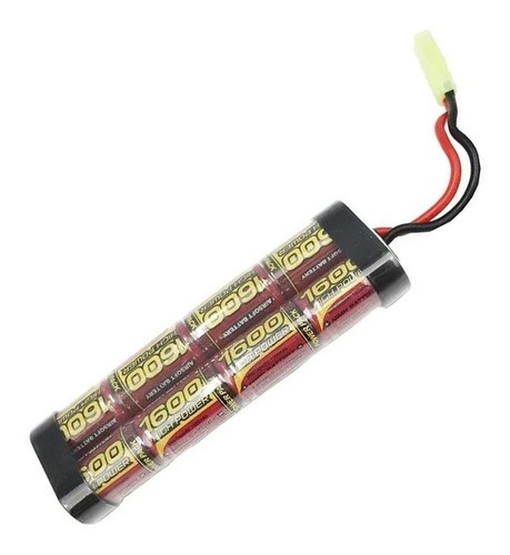 Bateria Para Airsoft Aeg Mod. Brick 9.6v 1600 Mah