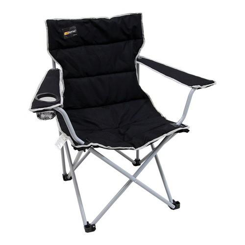 Cadeira Dobrável Boni Preto Camping Pesca Nautika + Bolsa