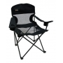 Cadeira Dobrável Fresno Com 2 Porta Copos Nautika Preto