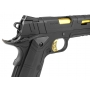Pistola Airsoft Rossi Redwings Gold 1911 Blowback Full Metal
