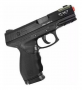Pistola Airsoft Spring Cybergun PT24/7 Cybergun 6mm + Magazine Extra + Coldre + Brindes