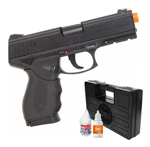 Airsoft Pistola Wingun W24/7 Rossi 6mm 180fps + Case + Óleo