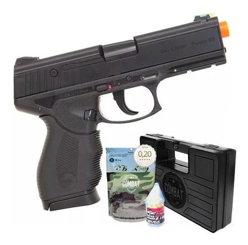 Airsoft Pistola Wingun W24/7 Rossi + Case + 4000 Bbs 0,20g