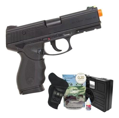Airsoft Pistola Wingun W24/7 Rossi + Case + Bbs + Coldre