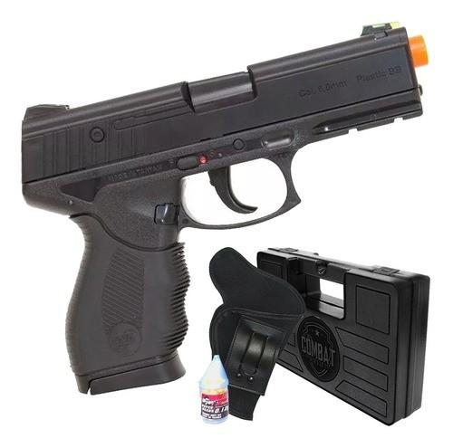 Airsoft Pistola Wingun W24/7 Rossi Spring + Case + Coldre