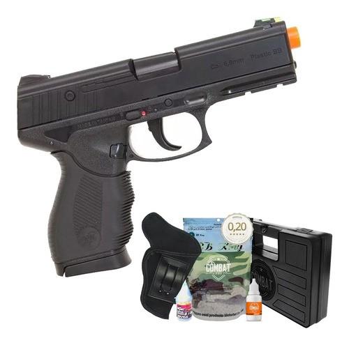 Airsoft Pistola Wingun W24/7 Rossi Spring + Kit Completo