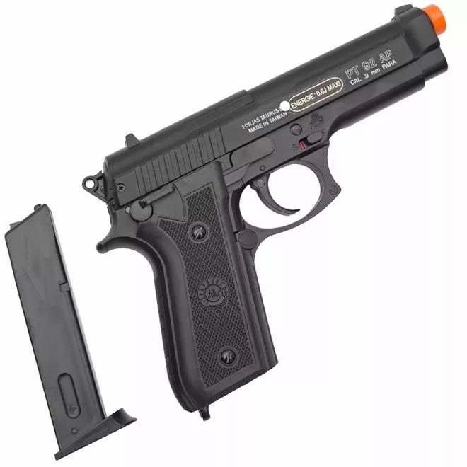 Pistola Airsoft Taurus Pt92 Slide Metal Spring