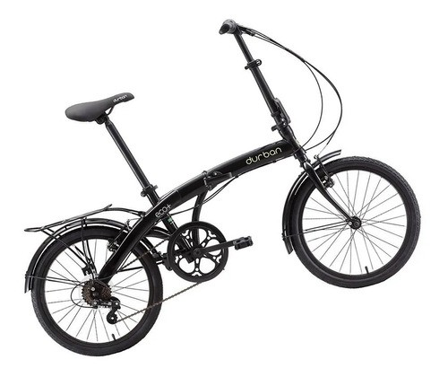 Bicicleta Dobrável Durban Eco+ Aro 20 6 Marchas