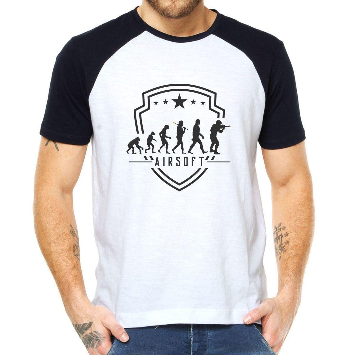 Camiseta Estampada Airsoft Combat - Evolution