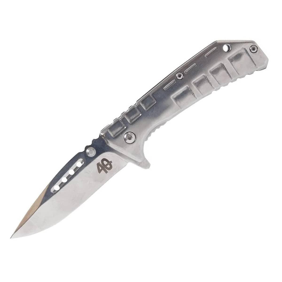 Canivete Tático Nautika Silver 40 Aço Inoxidável