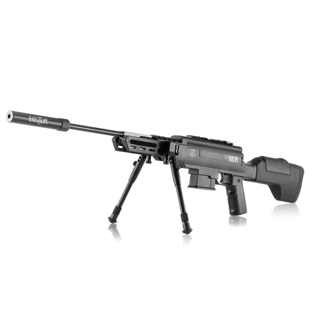 Carabina De Pressão Black Ops Sniper 5.5mm Gás Ram