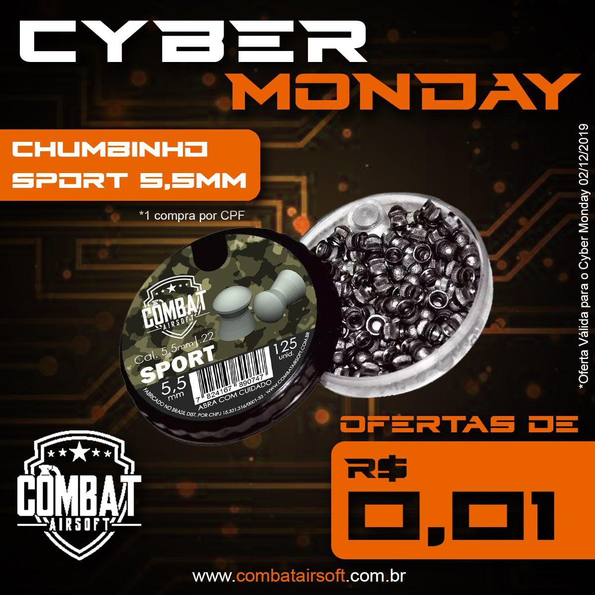 Chumbinho Combat Sport 5,5mm