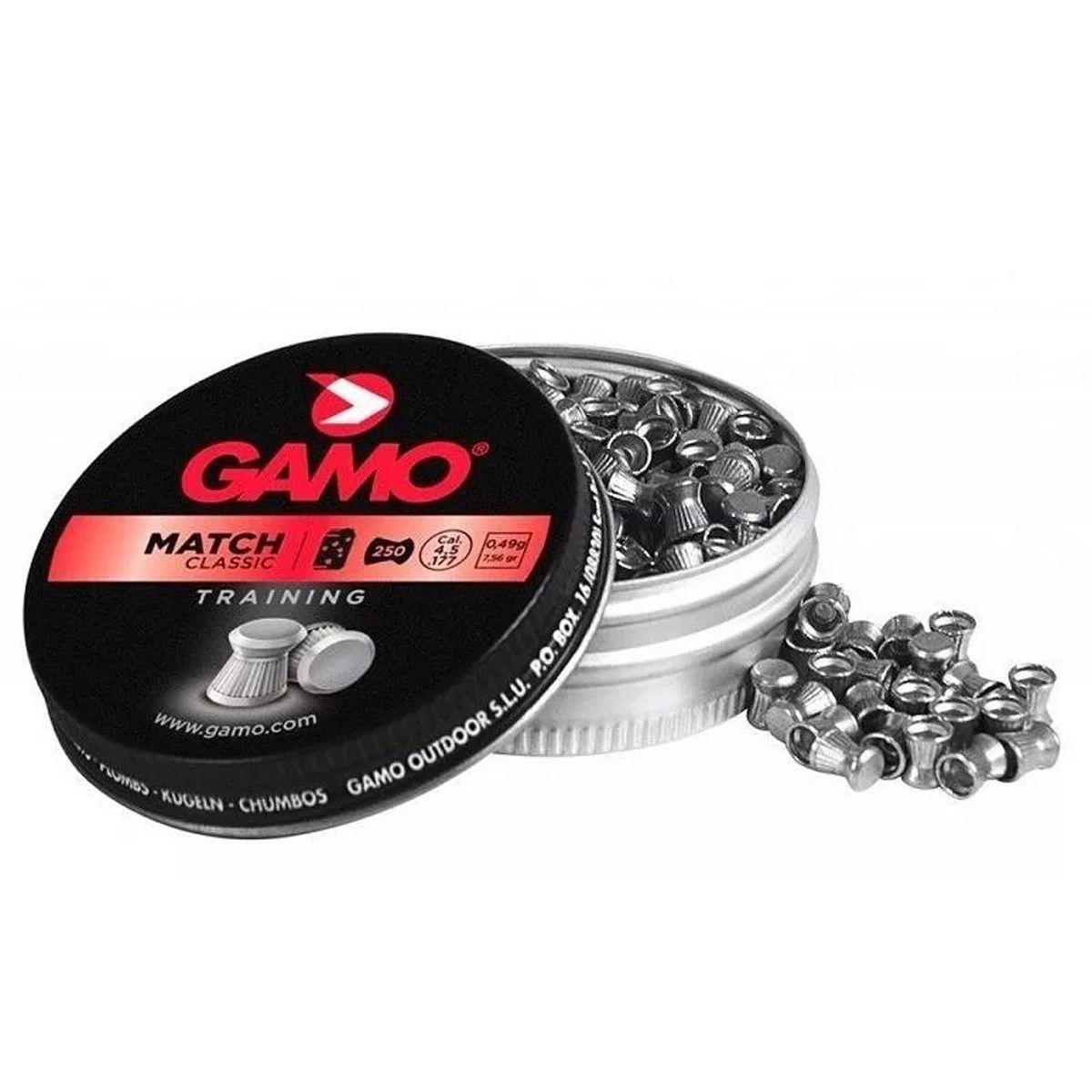 Chumbinho Gamo Match Classic Training Cal. 4,5mm 250un