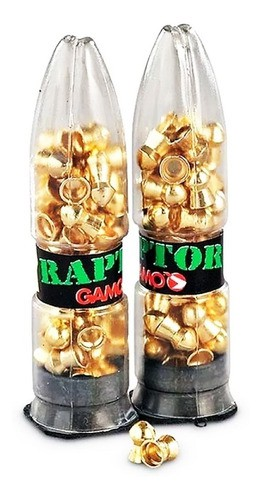 Chumbinho Gamo Raptor Pba Gold Power Pellets 4,5mm 100un
