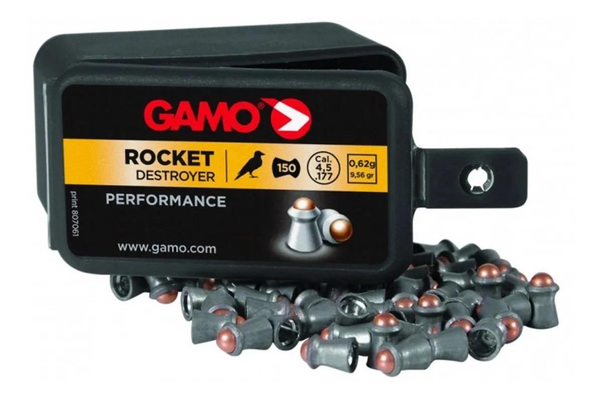 Chumbinho Gamo Rocket Destructor 4.5mm 150un