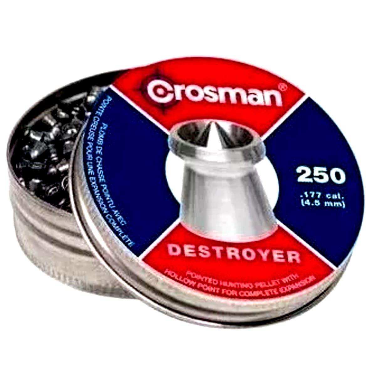 Chumbinho Premier Destroyer Ex Crosman Cal 4,5mm - 250 Un