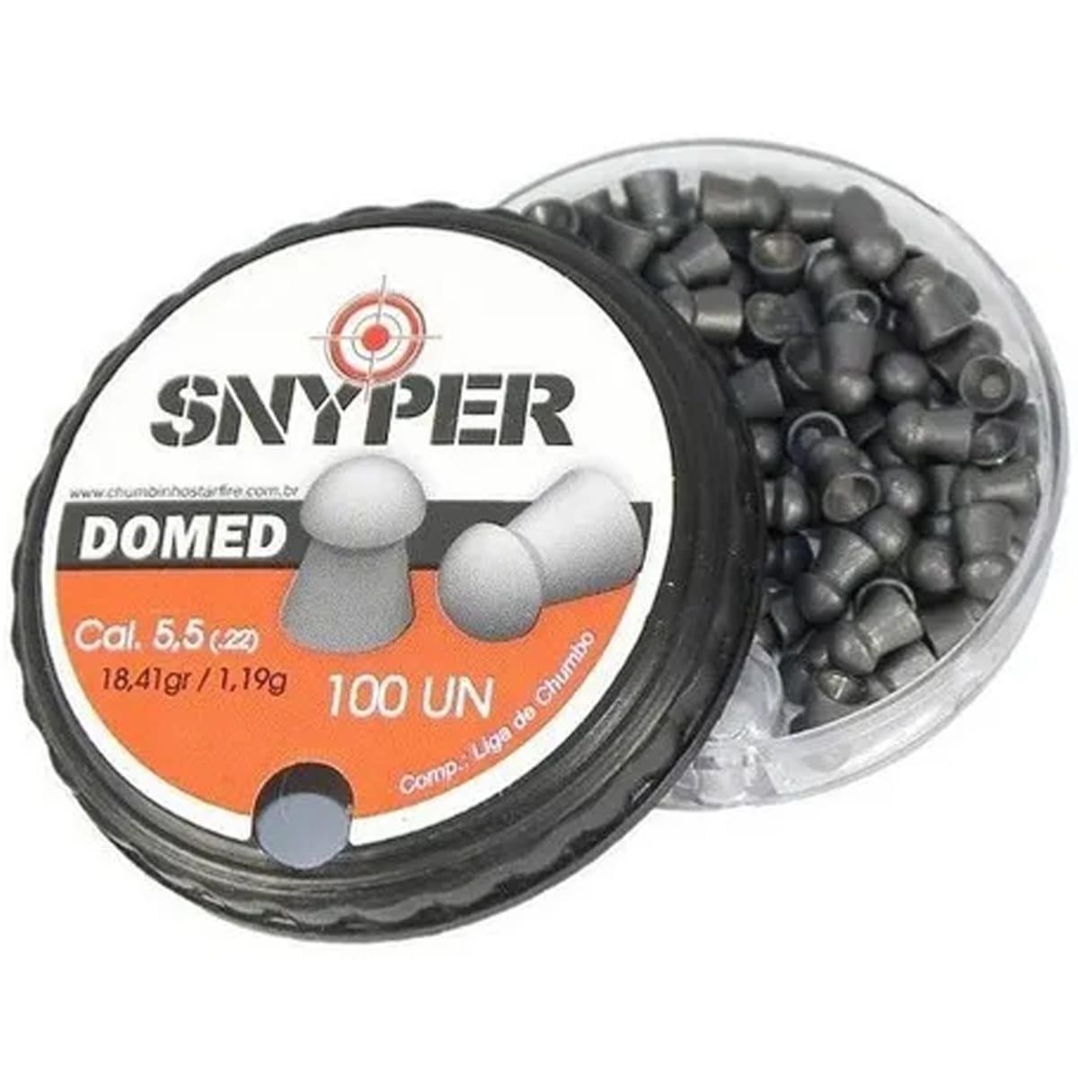 Chumbinho Snyper Domed 5,5mm 100un