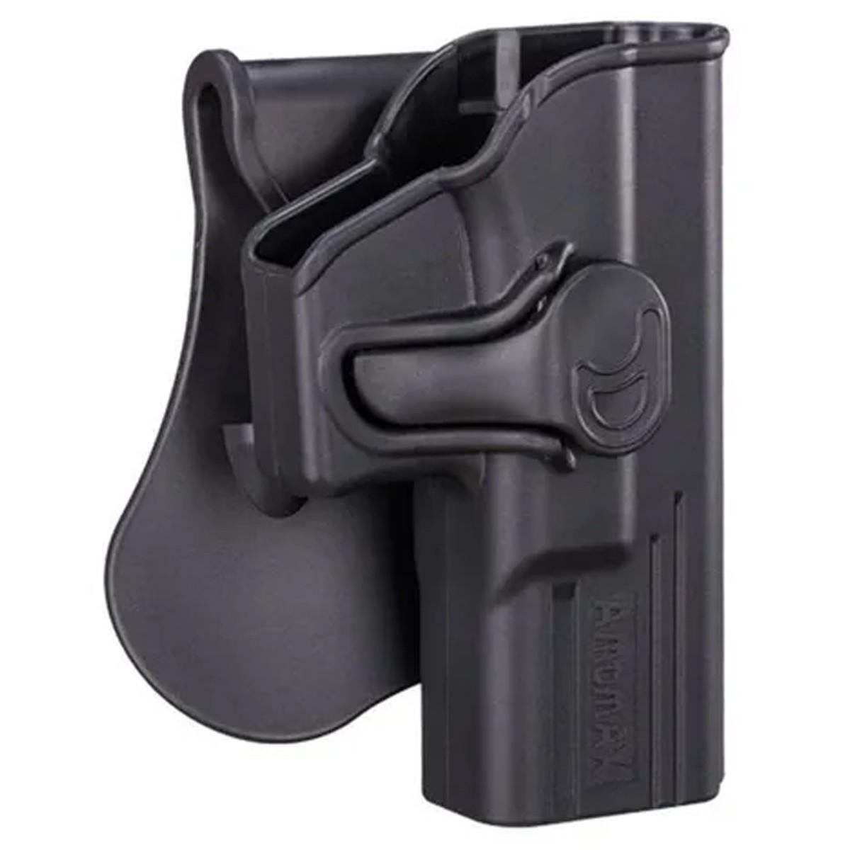 Coldre Destro Polímero Glock G17 G22 G31 Amomax