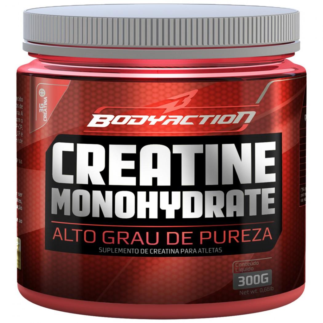 Creatine Monohydrate - 300g - BodyAction