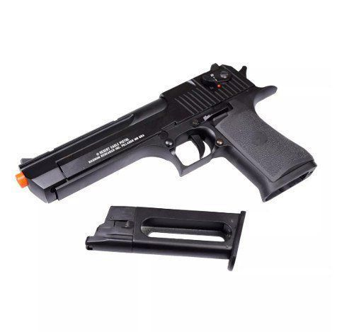 Desert Eagle Cybergun Full Metal Gbb Gás Blow Back Airsoft  - Combat Airsoft