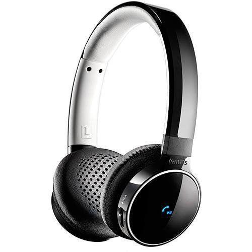 Fone de ouvido bluetooth 2.1 stereo com ajuste multidirecional shb9150bk/00 preto