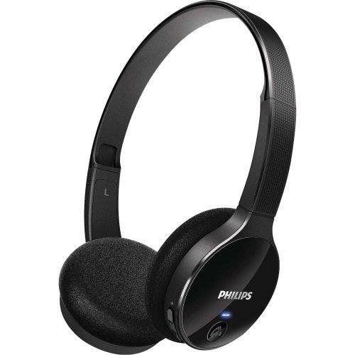Fone de Ouvido Bluetooth Philips SHB4000/00 - PRETO  - Combat Airsoft